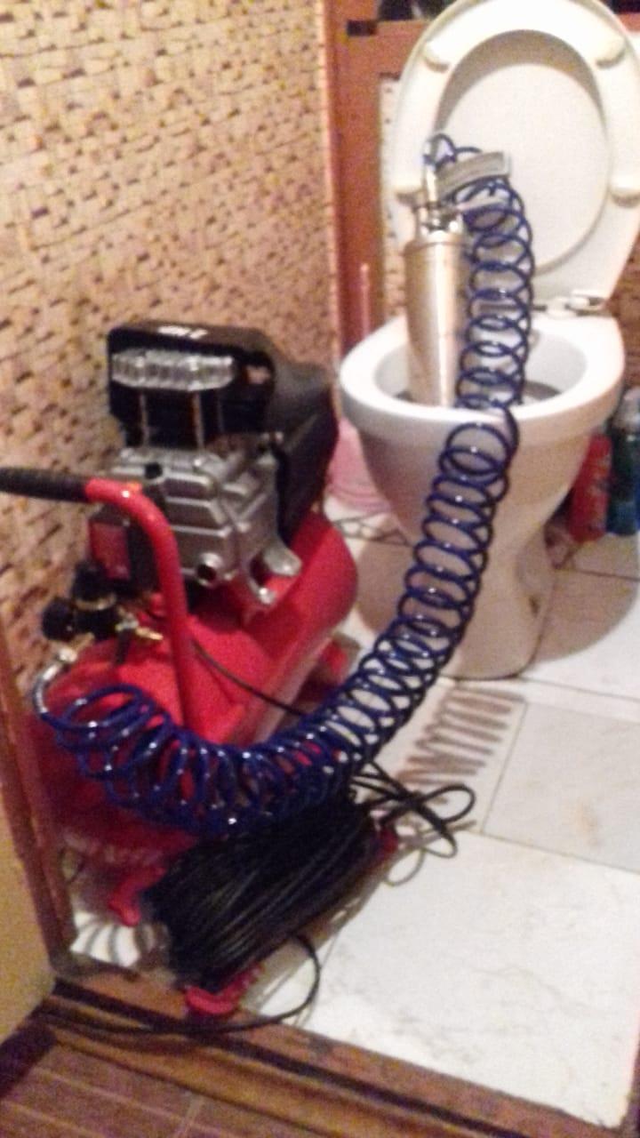 устранить засор канализации москва цена под ключ