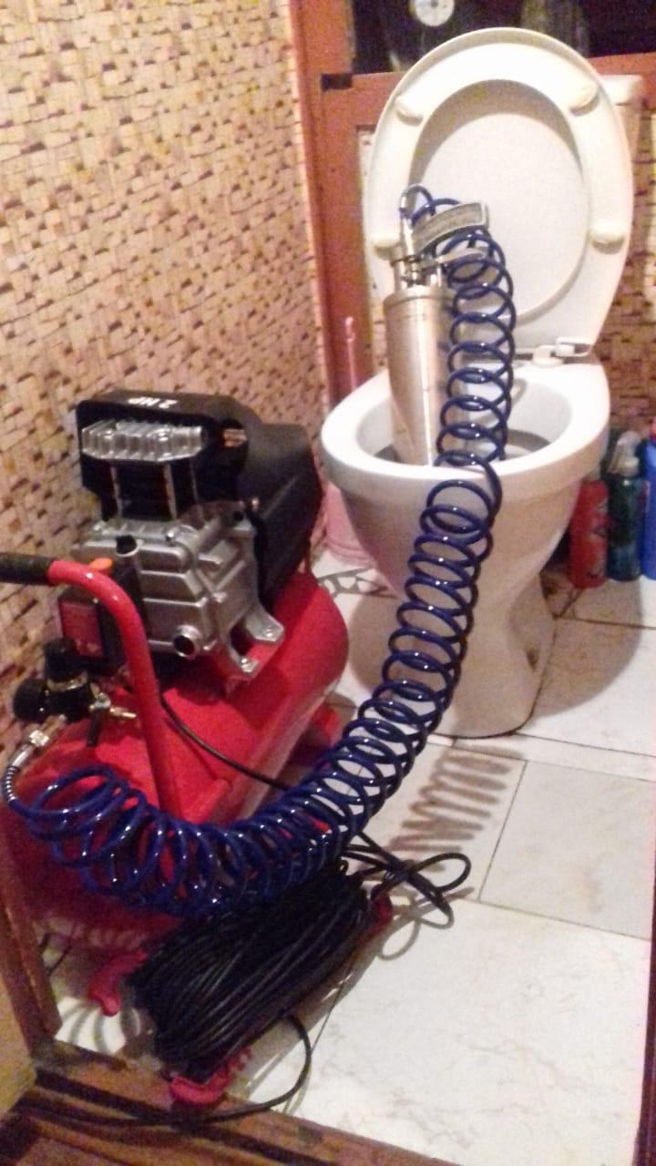 устранить засор канализации москва цена